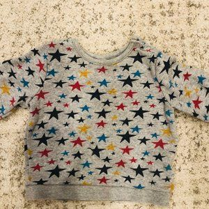 Baby Gap Star print Sweatshirt